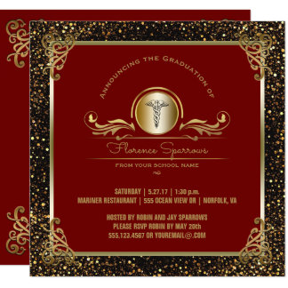 Cérémonie goupillante de la fête de remise des carton d'invitation  13,33 cm