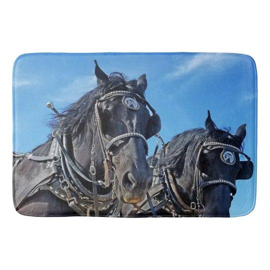 Ceremonious Horse Bathmat