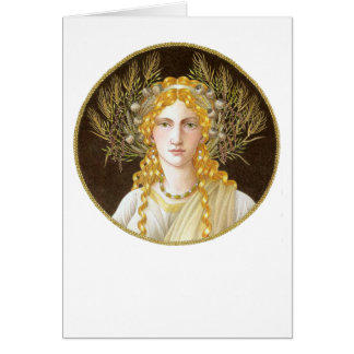 Ceres Greeting Card