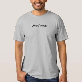 ceres' table restaurant t-shirts