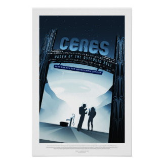 Ceres, Travel Poster