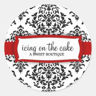 Cerise de la cerise sur le gâteau 311 sticker rond