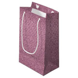 Cerise Glittery Gift Bag