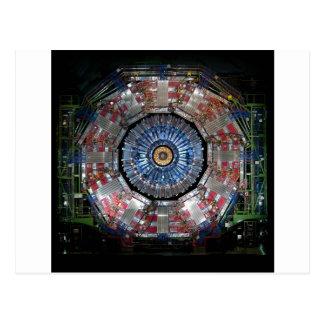 CERN Shiva LHC Postcard