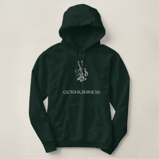 Cernunnos Embroidered Hoodie