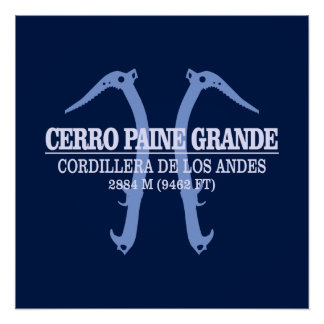Cerro Paine Grande Perfect Poster