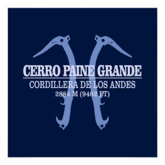 Cerro Paine Grande Poster