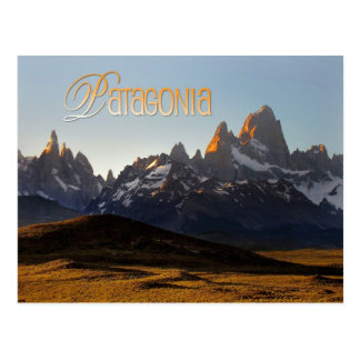 Cerro Torre and Monte Fitz Roy, Patagonia Postcard