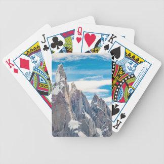 Cerro Torre - Parque Nacional Los Glaciares Bicycle Playing Cards