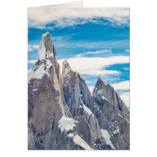 Cerro Torre - Parque Nacional Los Glaciares Card