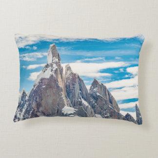 Cerro Torre - Parque Nacional Los Glaciares Decorative Pillow