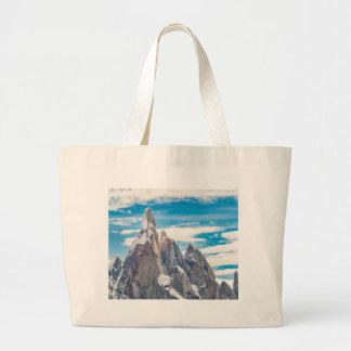 Cerro Torre - Parque Nacional Los Glaciares Large Tote Bag
