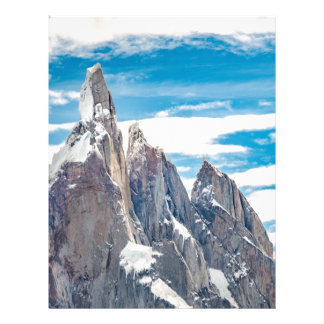 Cerro Torre - Parque Nacional Los Glaciares Letterhead