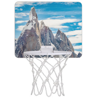 Cerro Torre Parque Nacional Los Glaciares Mini Basketball Hoop