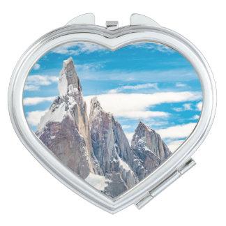 Cerro Torre Parque Nacional Los Glaciares Mirror For Makeup