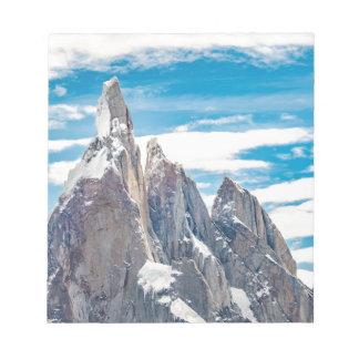 Cerro Torre - Parque Nacional Los Glaciares Notepad