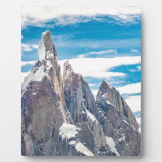 Cerro Torre - Parque Nacional Los Glaciares Plaque