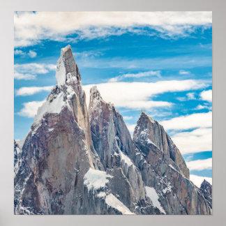 Cerro Torre Parque Nacional Los Glaciares Poster