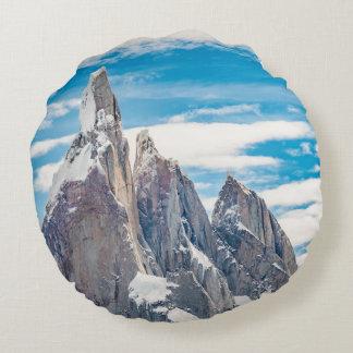 Cerro Torre - Parque Nacional Los Glaciares Round Pillow
