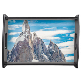 Cerro Torre Parque Nacional Los Glaciares Serving Tray