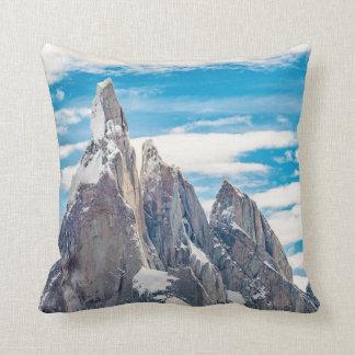 Cerro Torre Parque Nacional Los Glaciares Throw Pillow
