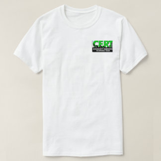 CERT Community Emergency Response Team T-Shirt