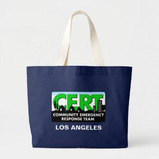 CERT Tote-Dark-customize Large Tote Bag