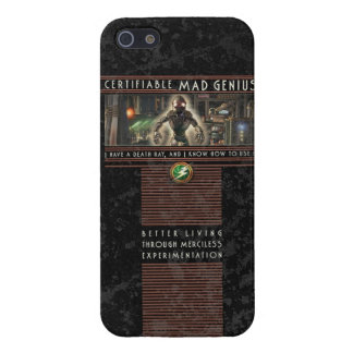 Certifiable Mad Genius iPhone5 Case iPhone 5 Covers
