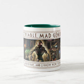 Certifiable Mad Genius Mug