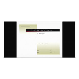 Certificate of Appreciation1 Card