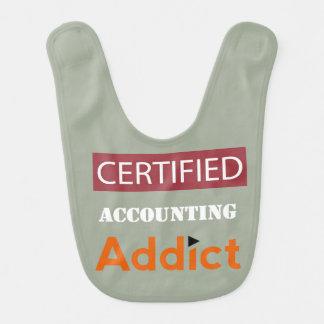 Certified Accounting Addict Baby Bib