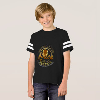 Certified Africa Country Fan Boy's Football Shirt