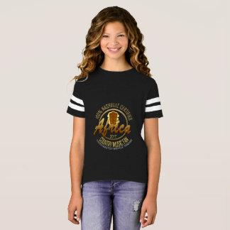 Certified Africa Country Fan Girl's Football Shirt