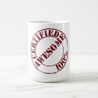 Certified Awesome Coffee Mug