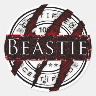 Certified Beastie sticker