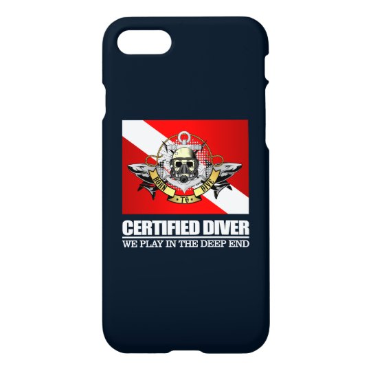 Certified Diver (BDT)2 iPhone 8/7 Case
