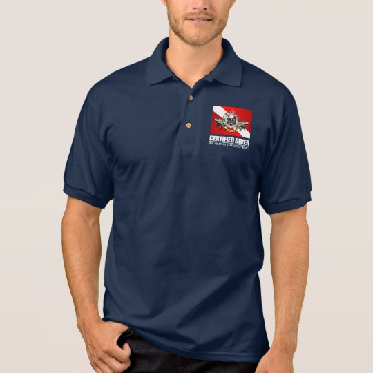 Certified Diver (BDT)2 Polo Shirt