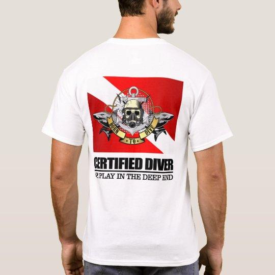 Certified Diver (BDT)2 T-Shirt