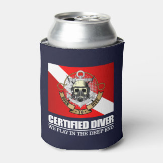 Certified Diver (BDT) Can Cooler