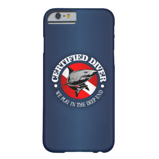 Certified Diver (Shark) Barely There iPhone 6 Case