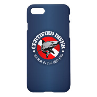 Certified Diver (Shark) iPhone 7 Case