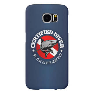 Certified Diver (Shark) Samsung Galaxy S6 Cases
