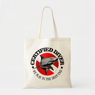 Certified Diver (Shark) Tote Bag
