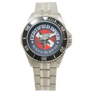 Certified Diver (Shark) Wrist Watch