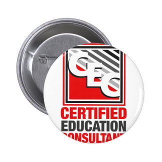 Certified Education Consultant 2 Inch Round Button