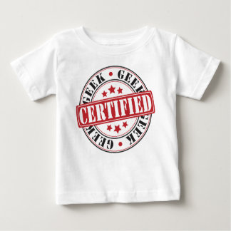 Certified Geek Baby T-Shirt
