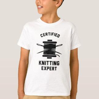 Certified Knitting Expert T-Shirt