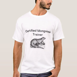 Certified Mongoose Trainer T-Shirt