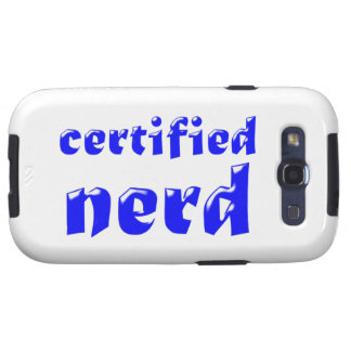 certified nerd galaxy s3 covers