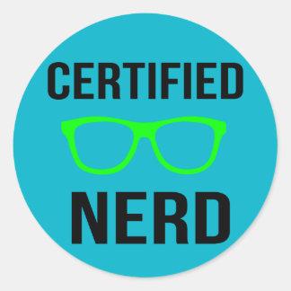 Certified Nerd Stickers